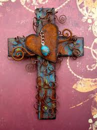 unique wall crosses 29 best images about crosses crucifixes on turquoise