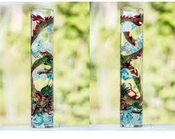 Round Glass Vase Round Glass Vase Etsy