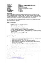 Bank Teller Resume Examples by Examples Of Resumes 85 Excellent Example A Resume For Job Basic