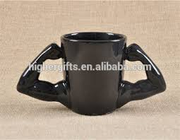 cool coffee mugs for guys muscle arm shaped cool coffee mugs funny novelty ceramic