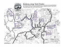 Map Of Sedona Arizona trails in sedona az jeep cherokee forum