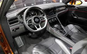 volkswagen concept interior volkswagen crossblue coupe concept first look motor trend
