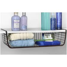Bathroom Storage Shelves With Baskets by Under Shelf Storage Drawer Uk Under Shelf Storage Organization