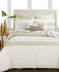 hotel collection modern eyelet duvet covers created for macy u0027s