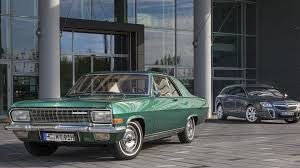 opel diplomat opel ceo karl thomas neumann shows off his diplomat a v8 coupe