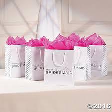 1 bridesmaid gift bags