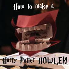 Harry Potter Party Decorations Diy How To Make A Harry Potter Howler Harry Potter ϟ Pinterest