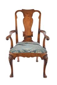 Pictures Of Queen Anne Chairs by A Walnut Queen Anne Style Open Arm Chair 1900 United Kingdom