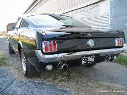 Black 1966 Mustang Virginia Classic Mustang Blog 1966 Mustang Gt Fastback For Sale