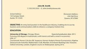 Sample Resume For Ojt Students by Career Objective For Ojt Information Technology Virtren Com