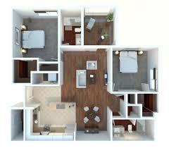 general modern design two bedroom two bathroom 2 bedroom