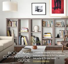 Bookcase Furniture Modern Custom Bookcases Modern Custom Furniture Room U0026 Board