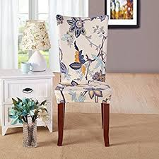 dining chair slipcovers amazon com yiwant fit stretch removable washable dining