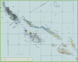 Topography Map Topographic Map Of Solomon Islands