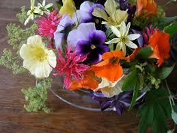 edible flower arrangements edible flowers ecker ogden