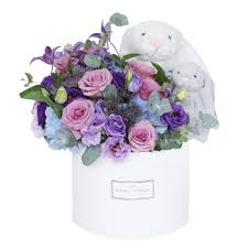 flowers in a box the floral atelier singapore online flower delivery shop bloom