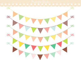 Pretty Bunting Flags Bunting Banner Clip Art 72