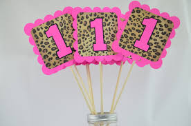 pink leopard print baby shower decorations images baby shower ideas