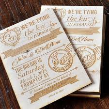wooden wedding invitations vintage wood wedding invitations 5 x 7 laser cutting lab llc