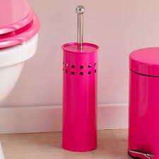 toilet brush u0026 holder pink toilet bathroom toilets and toilet bowl