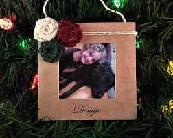 photo frame ornament etsy
