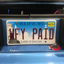 Vanity Plate Best Vanity License Plates At Mustang Week 2017 Cj Pony Parts