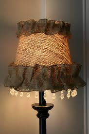 Table Lamps For Living Room Lighting Table Lamp Using Mesmerizing Burlap Lamp Shade For
