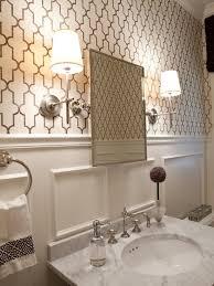 Wallpaper For Bathrooms Ideas Colors Powder Room Grasscloth Bathroom Design Pictures Remodel Decor