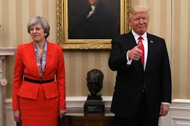 Queen Elizabeth Donald Trump Donald Trump Receives State Visit Invite By Theresa May During