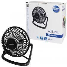 petit ventilateur de bureau ventilateur de bureau usb logilink ua0192