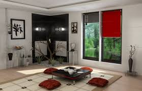 Japanese Style Living Room Living Room Japanese Style Bright Lighting Above Drawer Vanity