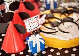 mickey mouse birthday party ideas kara s party ideas mickey mouse themed birthday party planning ideas