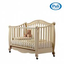 luxury antique look wooden baby nursery cot rigoletto by pali