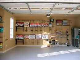 Garage Organization Business - elfa rails u0026 brackets without shelves hold real estate signs
