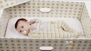 Baby Furniture Los Angeles Why Babies Should Sleep In Boxes Idea Catching On In U S Youtube