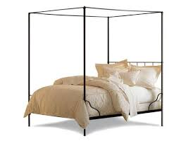 Iron Canopy Bed Cairo Canopy Bed W Or W O Finial Options Charles P Rogers