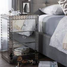 Affordable Mirrored Nightstand Home Goods Mirrored Nightstand Distressed Dresser Pier One