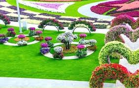 Planning A Flower Garden Layout Flower Garden Ideas By Shade Garden Plants