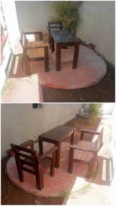 Pallet Patio Furniture Ideas by Easy To Make Wood Pallet Amazing Furniture Ideas Recycled Things
