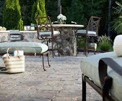 patio pavers patio ideas concrete vs pavers cost guide concrete paver patio