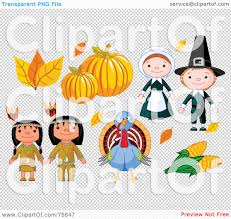 thanksgiving pilgrams royalty free rf clipart illustration of a thanksgiving digital