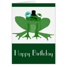frog birthday greeting cards zazzle com au