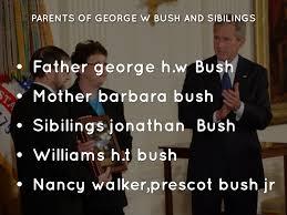 george h w bush date of birth george w bush by karime rodriguez