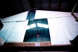 folding industrial thermal curtain walls energy shield