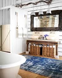 Rustic Star Bathroom Decor Extraordinary Bay Windows Bathroom Rustic Storage Ideas Hroom