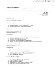 Resume For Painter 100 Maintenance Job Resume Sample Resume For Janitorial
