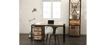 bureau industriel pas cher bureau style industriel pas cher comely bureau industriel d coration