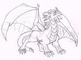how to draw a dragon breathing fire youtube archives pencil