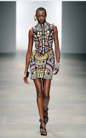 masai jewellery and fabric drives me gaga color me bright