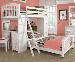 NE Kids School House Student Loft Bed And Bunkbeds In Kids Bedroom - Ne kids bunk beds